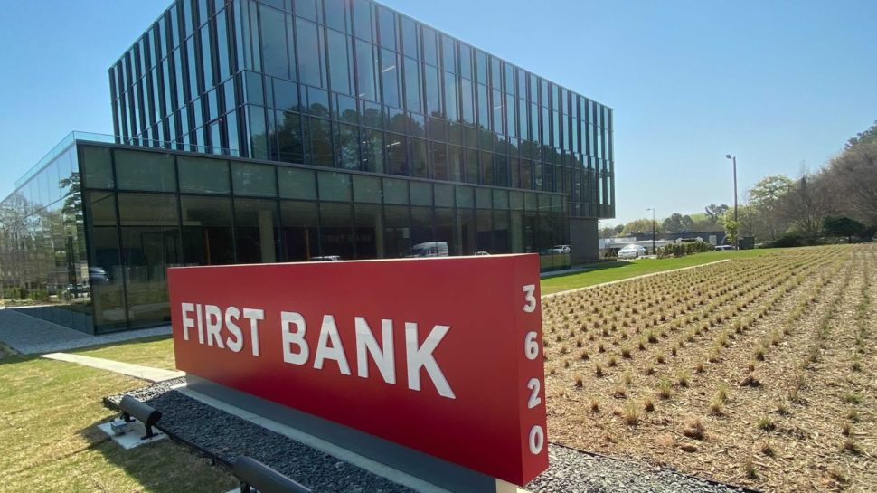First Bank's new regional HQ