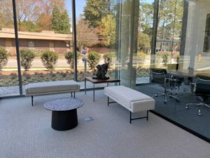 First Bank sitting area